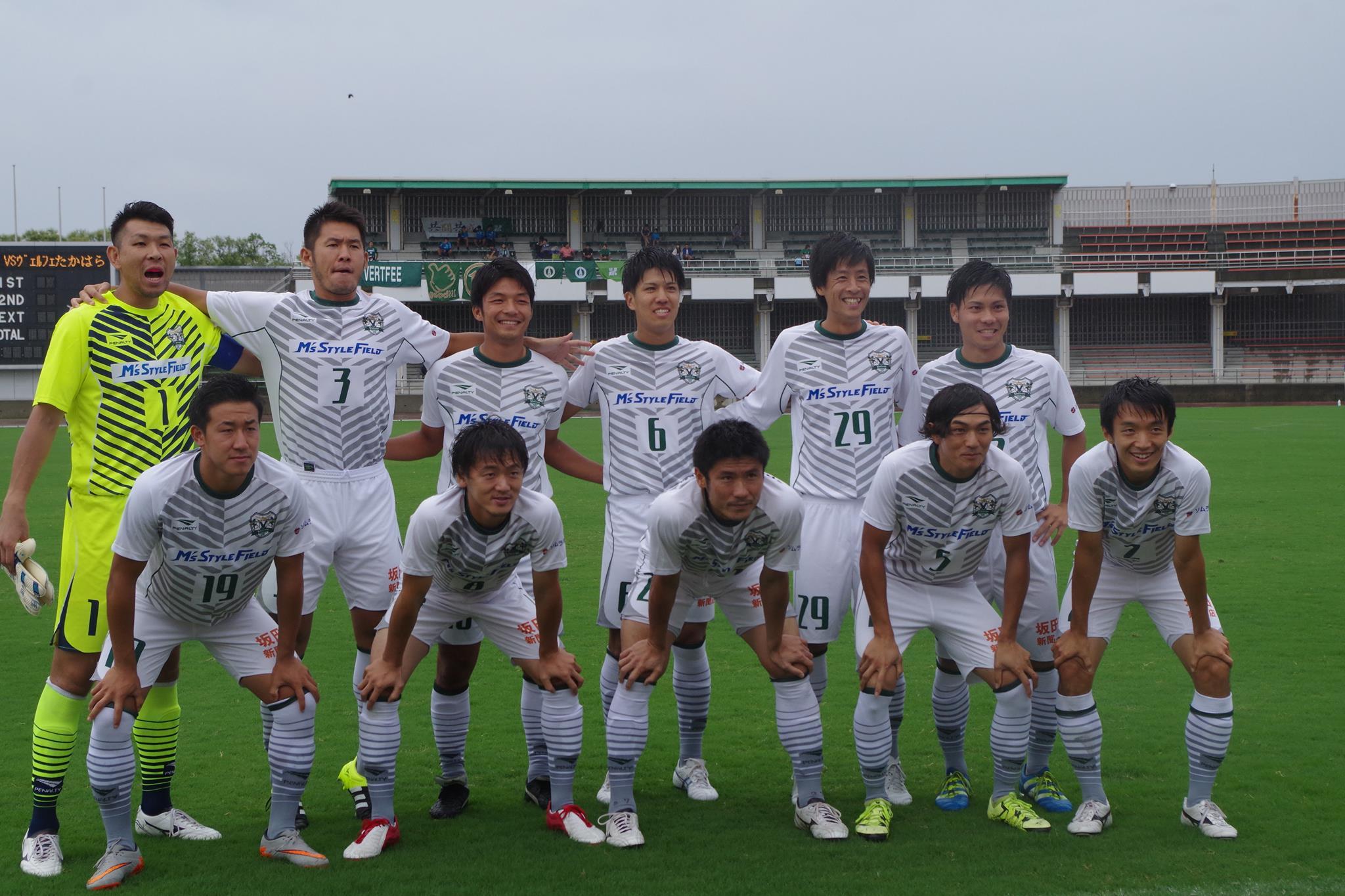 2016関東サッカーリーグ1部後期7節vsVONDS市原FC