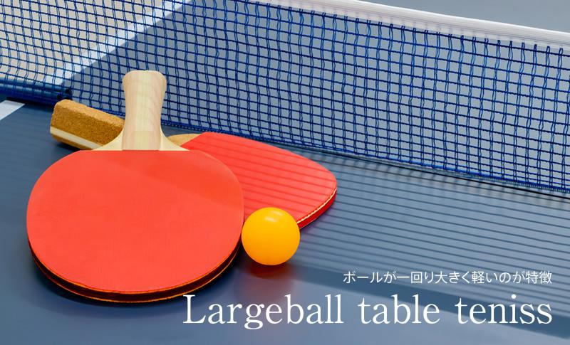 ラージボール卓球